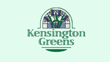 Kensington Greens Button